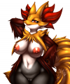 .:Pokemon:. Delphox X3