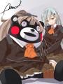 「ほら熊野わかる?提督が来てくれたよ」